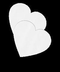 'Nipple Sticker - Hearts'