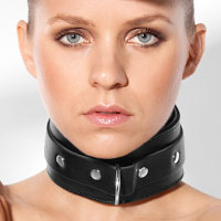 Breites Halsband mit O-Ring
