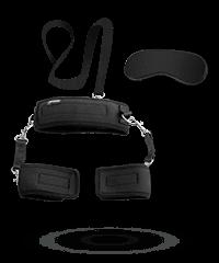 Fessel-Set mit Augenmaske