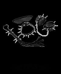 'Rock Hard Bondage Kit', 4teilig