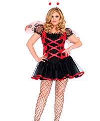 Süßes Marienkäfer-Kostüm, 3teilig