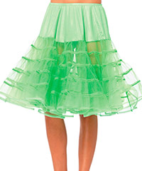 Knielanger Petticoat