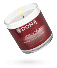 'Massage Candle Strawberry', 135 g