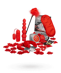 'Red Romance Gift Set', 8‑teilig