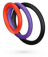 'Triple C-Ring Set', 3 Teile