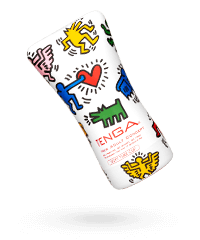 'Keith Haring Soft Tube Cup', 14,5 cm