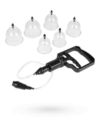 'Beginner's Cupping Set', 8 Teile