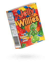 'Jelly Willies', 150 g