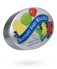 'Succulent Hard Willies', 90 g