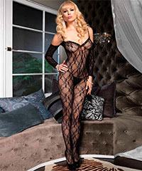 Bodystocking mit Cut Outs