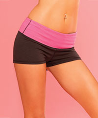 'Strike a Pose Yoga Short'