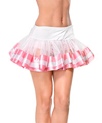 Trans­parenter Mini-Petticoat