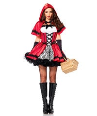 'Gothic Red Riding Hood', 2 Teile