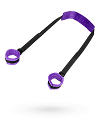 'Soft Enhancer Set with Footcuffs', 2‑teilig