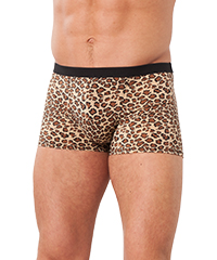 Aufregende Shorts im Leoparden-Design