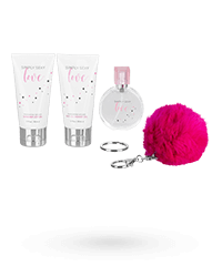 'Simply Sexy Love - Gift Set', 4 Teile, 125 ml