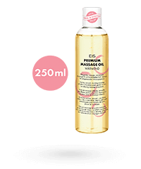 'Premium Massageöl wärmend', 250 ml