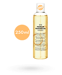 'Premium Massageöl Karamell', 250 ml