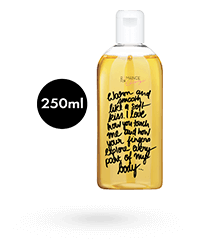 'Massage In A Bottle - Pfirsich', 250 ml