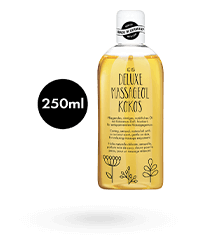 'Deluxe Massageöl Kokos', 250 ml