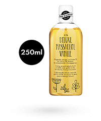 'Deluxe Massageöl Vanille', 250 ml