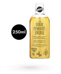 'Deluxe Massageöl Lavendel', 250 ml