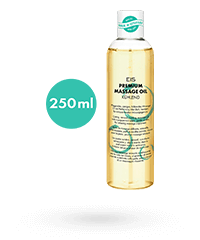 'Premium Massageöl kühlend', 250 ml