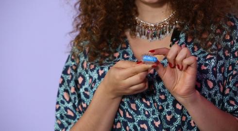 Was kann der 'Finger-Vibrator mit Lamellen'? EIS weiß Bescheid.
