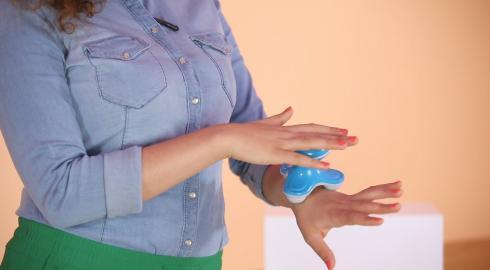 Was kann das 'Massagegerät mit Druckpunktfunktion'? EIS weiß Bescheid.