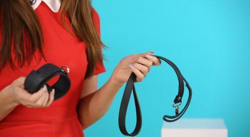 Was kann das 'Halsband mit Leine in Leder-Design' ? / EIS stellt es für Dich her und erklärt es Dir