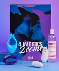 '4 Weeks 2 Come', Orgasmusbox mit 4 Toys