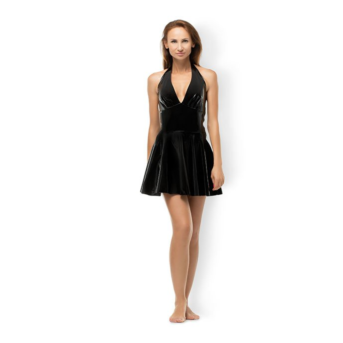 wide-skirt-mini-dress-schwarz-1