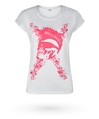 'Ladies Extended Shoulder Tee'