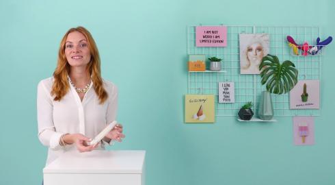 Was kann der Klassische Vibrator 'Sexy Things - Slimline' von Blush Novelties? EIS erklärt es Dir!