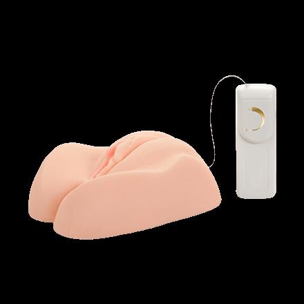 Naturmasturbator mit Vibration, 16cm