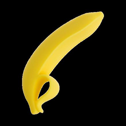 Silikondildo in Bananenform, 15,5cm