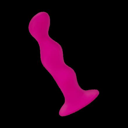 Kugelförmiger Analdildo aus Silikon, 12cm