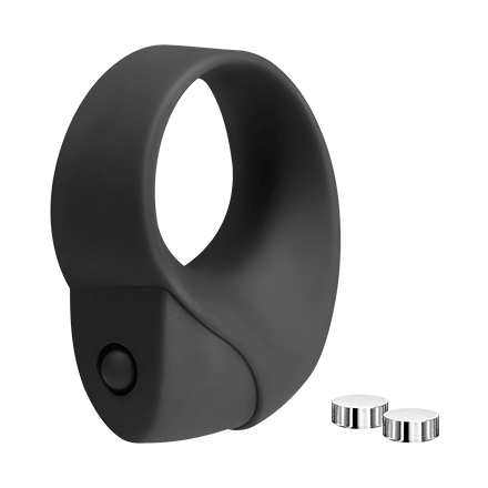 Silikon-Penisring mit Vibration, 3‑6cm