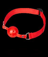Knebel mit perforiertem Ball