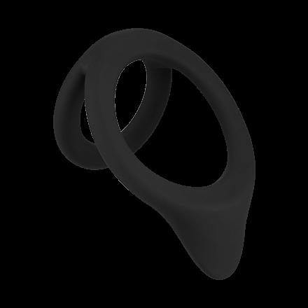 Hodenring mit Dammreizer aus Silikon, 3,5‑7cm