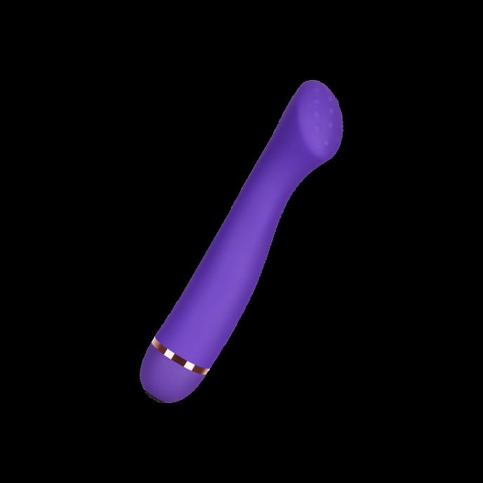 G-Punkt-Vibrator mit genoppter Spitze aus Silikon, 18 cm - G Punkt Vibrator