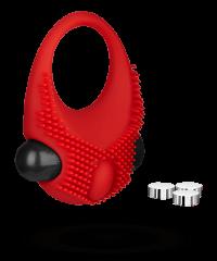 Vibro‑Penisring aus Silikon, 3‑5cm