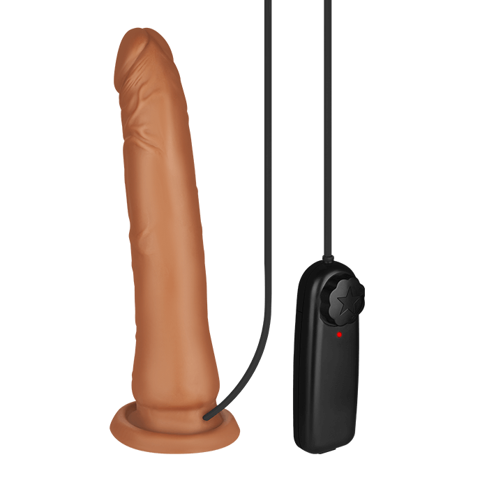 ´Vibrating Cock with Suction Cup´, 22,5 cm