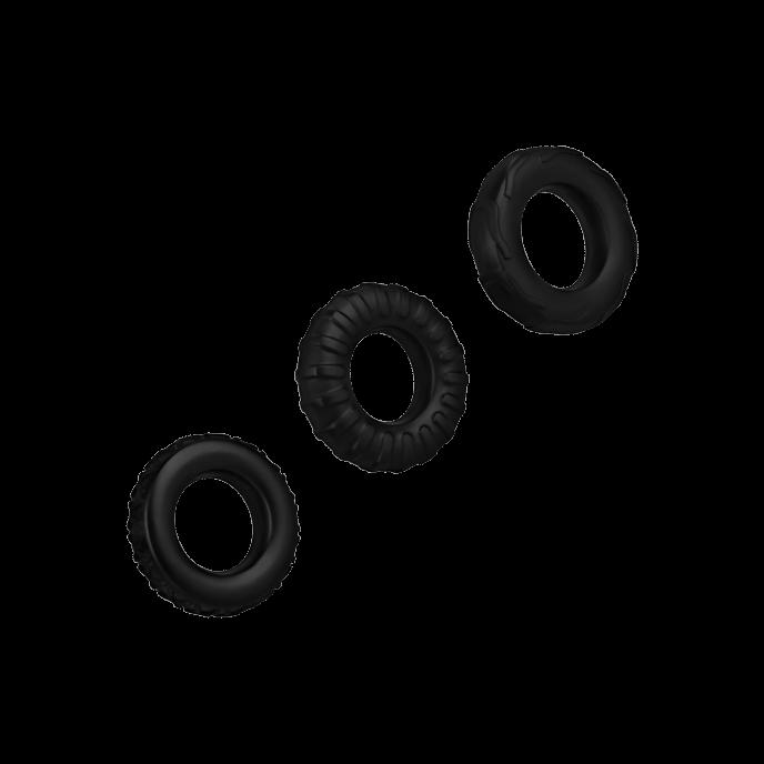 Penisring-Set aus Silikon, 3 Teile, 2 – 5 cm – 83%