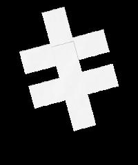 'Nipple Sticker - Cross'