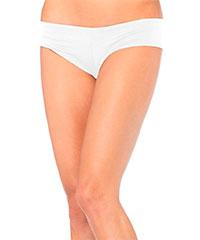 Tief geschnittene Mikrofaser-Panty