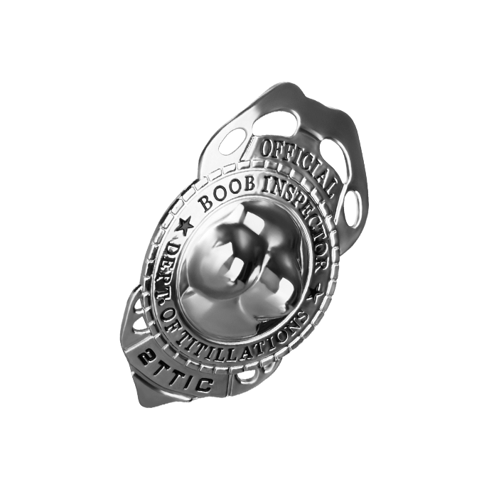 ´Boob Inspector Badge´