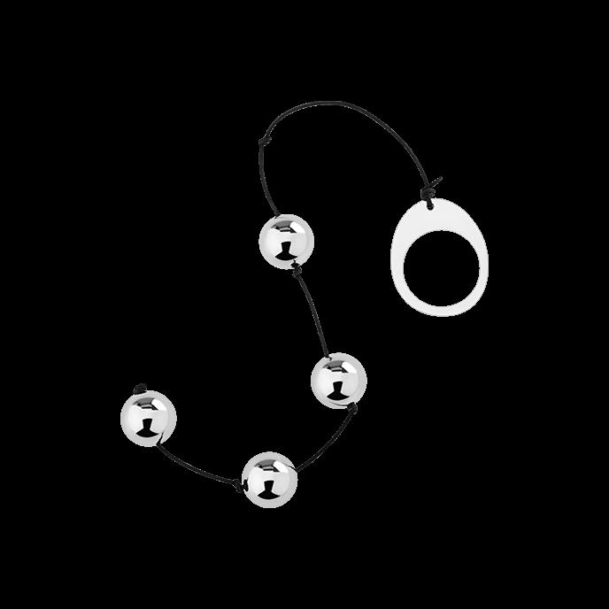´Heavy Metal Anal Beads´, 1,9cm