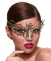 'Venetian Mask Private Affair', gold