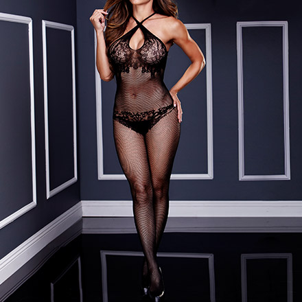 Sexy Netzbodystocking